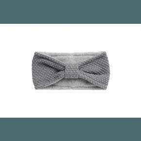 mp Denmark pandebånd med sløjfe - Grey Marled