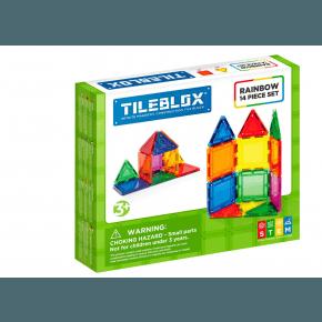 Tileblox Rainbow 14 set - Konstruktionssæt