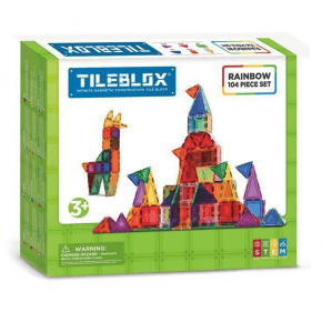 Tileblox Rainbow 104 set - Konstruktionssæt