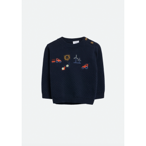 Hust & Claire pullover Pilou - navy