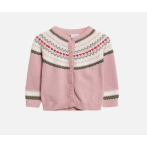 Hust & Claire Charme cardigan - violet ice