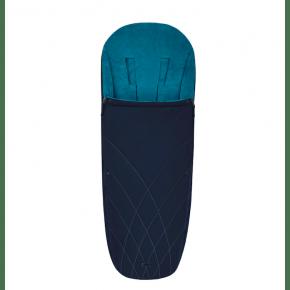 Priam Platinum Footmuff - Nautical Blue