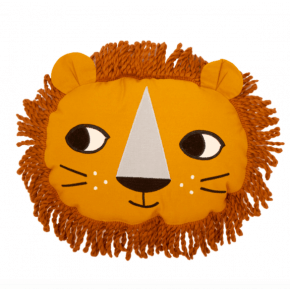 Roommate pude løve - okker