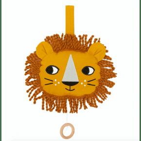 Roommate løve musikuro - okker