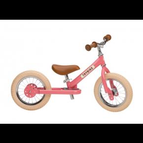 TRYBIKE Balancecykel 2 hjul - Lyserød
