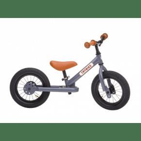TRYBIKE Balancecykel 2 hjul - Grå
