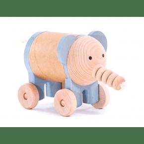 Bajo - elefant m. hemmeligt rum