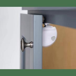Safety 1st adhesive magnetic lock skabslås - hvid