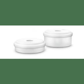 Philips Avent opbevaringsbøtter til børnemadsmixer - hvid