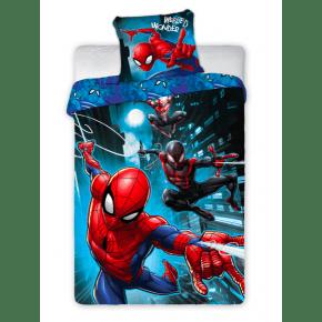 Spiderman Sengetøj 140x200 - Blå