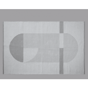 Flexa gulvtæpppe 180x120 - mountain grey