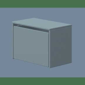 Flexa PLAY opbevaringsbænk - light blue