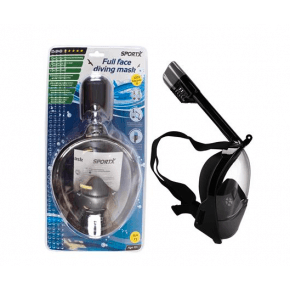SportX snorkelmaske  - sort