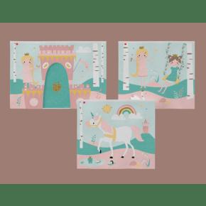 Flexa PLAY legeforhæng - little princess