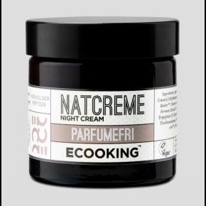 Ecooking natcreme parfumefri 50 ml.