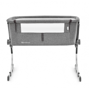 Kinderkraft UNO Bedside Crib - grå
