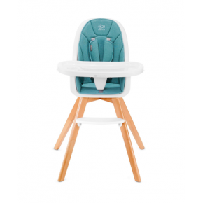Kinderkraft TIXI højstol 2in1 - turquoise