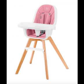 Kinderkraft TIXI højstol 2in1 - pink