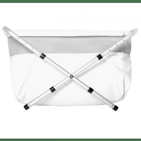 BiBaBad flexi badekar 70-90 cm. - sølv