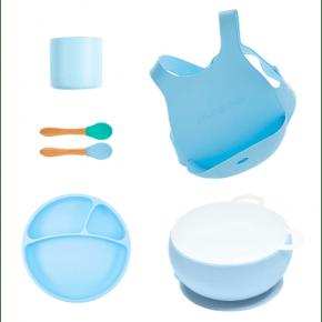 MiniKOiOi stort servicesæt - blå