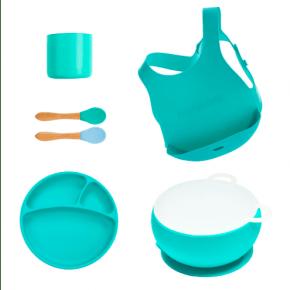 MiniKOiOi stort servicesæt - grøn
