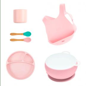 MiniKOiOi stort servicesæt - lyserød