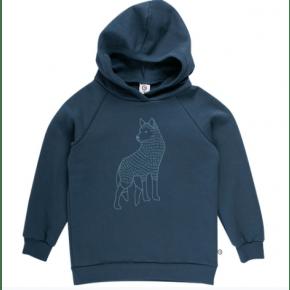 Müsli WOLF hættetrøje - midnight