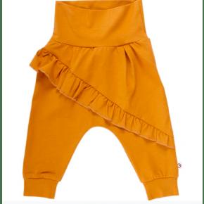Müsli COZY ME baby bukser m. flæser - wood