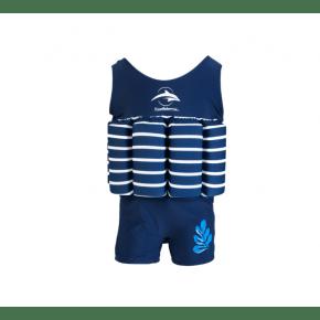 Konfidence flydedragt - blue stripe