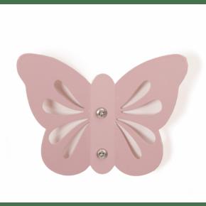 Roommate sommerfugle knage - rose