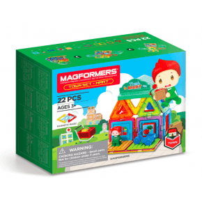 Magformers Town Fresh Mart - 22 dele