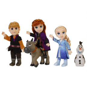 Frost 2 Petite Adventure Figurer 5 stk. - multi
