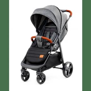 Kinderkraft GRANDE Klapvogn - grey