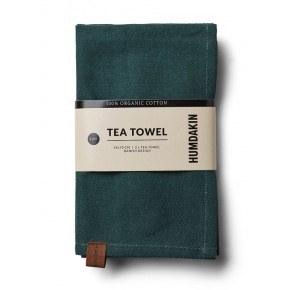 HUMDAKIN Organic Tea Towels, 2-pack - Dark Wood