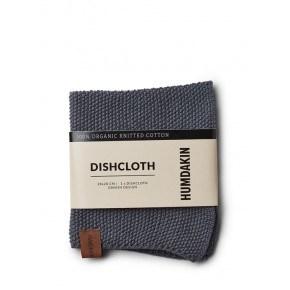 HUMDAKIN Knitted dishcloth – Dark Ash