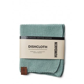 HUMDAKIN Knitted dishcloth – Dusty Green