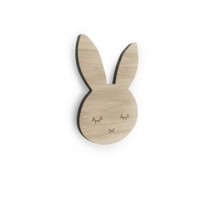 Bunny Sleepy knage (egetræ)