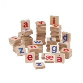 Krea Små bogstaver til magnet tavle