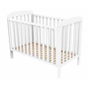 Baby Dan Babyseng 60x120 cm - Hvid