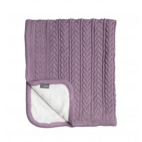 Vinter & Bloom Cuddly babytæppe - soft pink