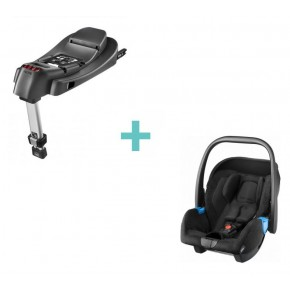 Recaro Privia Sort m. Recaro Isofix Base