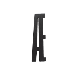 Design Letters Black wooden letters - Æ