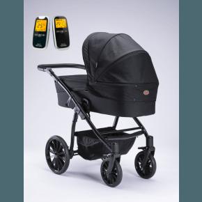 Arden Denmark Supreme Plus sort + Neonate babyalarm 5800