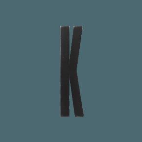 Design Letters Black wooden letters - K