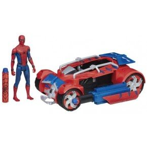 Spiderman Racerbil m figur