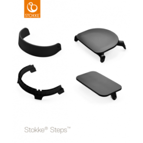 Stokke Steps Chair Seat - Sort