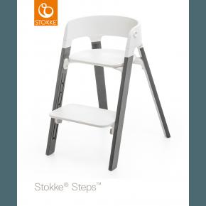 Stokke Steps højstol - Storm grey