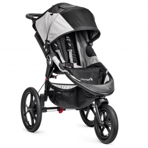 Baby Jogger Summit X3 Løbevogn - Black/grey 2020 model
