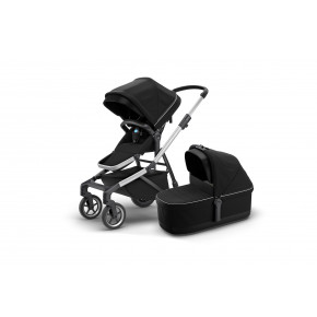 Thule Sleek kombivogn m. lift - Midnight Black