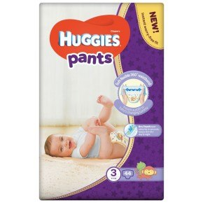 Huggies Pants - str. 3, 6-11 Kg.